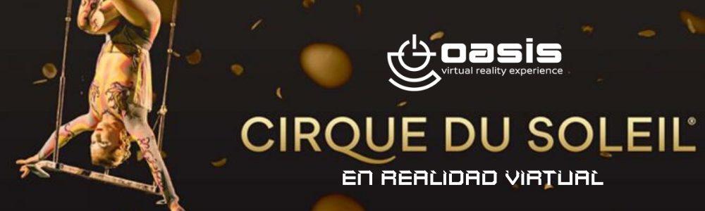 Imagen que muestra la realidad virtual del circo del sol.