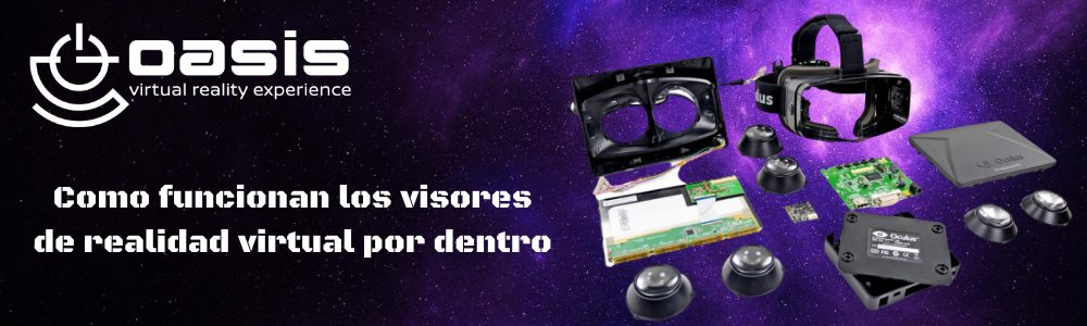 Visores de realidad virtual por dentro