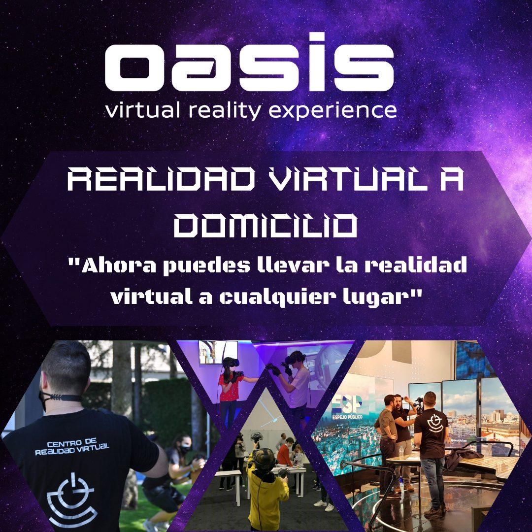 Realidad virtual a domicilio