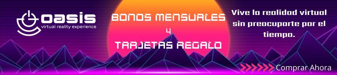 Logo Bono mensual realidad virtual en Madrid